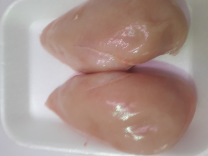 Filetes de pechuga de pollo