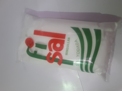 Bolsa de sal Yodada