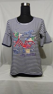 camiseta de rayas marineras