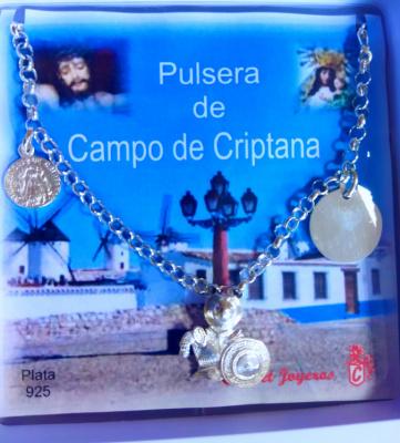 PULSERA CAMPO DE CRIPTANA PLATA DE LEY