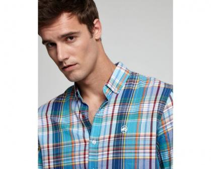 Camisa con cuadros Altonadock
