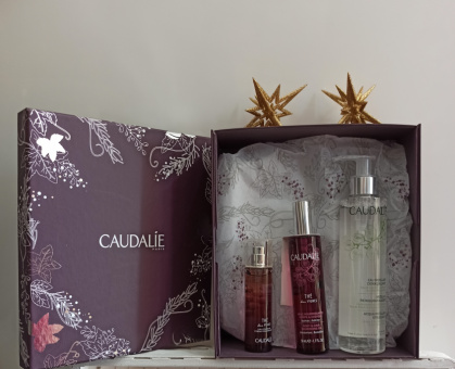 Caudalie pack colonia+aceite corporal+ agua micelar