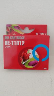 Cartucho Impresora T1812 (Cyan) (Compatible)
