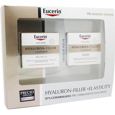 PACK EUCERIN HYALURON-FLLER+ELASTICITY DIA Y NOCHE
