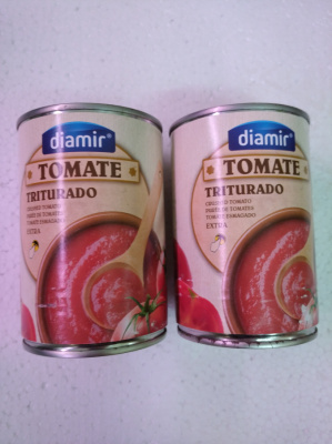 Tomate triturado Diamir