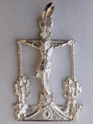 Medalla silueta Cristo de Villajos