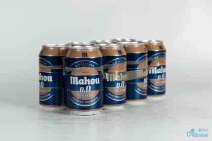Cerveza Mahou Tostada 0,0