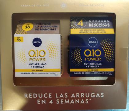 Antiarrugas día y noche Nivea Q10